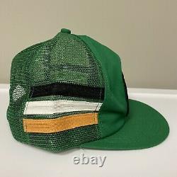 Vintage Kodiak Racing K Products 3 Stripe Mesh Patch Snapback Trucker Cap Hat