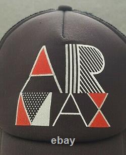Vintage Nike Air Max Trucker Snapback Osfa Cap Hat Silver Tag Tinker Hatfield