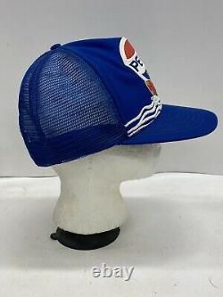 Vintage Pepsi Cola Surfing Surfer Themed Trucker Cap Snapback Hat Mesh 80s 90s