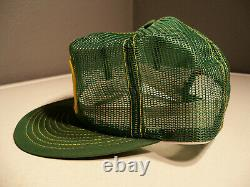 Vintage Rare John Deere Louisville Mfg Co Full Mesh NOS Snapback Trucker Hat Cap