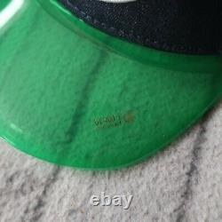 Vintage Rare Von Dutch Logo Clear Mesh Trucker Snapback Hat Cap