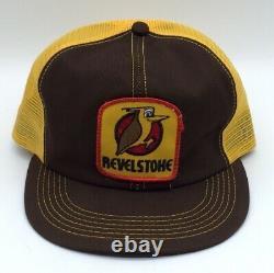 Vintage Revel Stoke Patch Snapback Trucker Hat Cap K-Brand Mesh Back