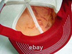 Vintage Snapback FS SEED Co Truckers Ball Cap Hat K Products K Brand (mesh)