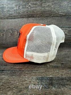 Vintage Stihl K Products Brand Stihl Patch Mesh Snapback Trucker Hat Cap USA