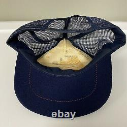 Vintage Tide Racing Team #17 Mesh Snapback Trucker Cap Hat Made In USA
