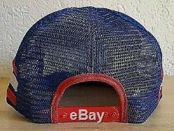 Vtg 3D Puff PEPSI COLA Snapback Cap Americas Finest City San Diego Trucker Hat