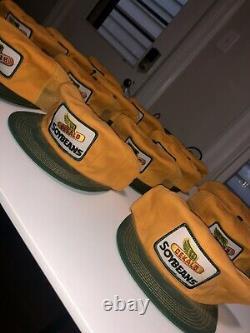 Vtg NOS Dekalb Cap Hat Lot of 16 Mesh Snapback Agriculture Seed USA Farm Soybean