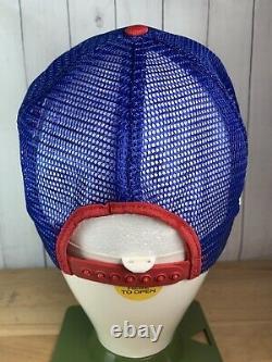 Vtg PEPSI COLA 3 Stripe Snapback Trucker Hat Cap 1988 Alaska State Fair UNUSED