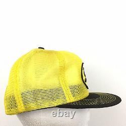Vtg Soilserv Patch Cap K-Brand Made USA Logo Mesh Snap Back Trucker Baseball Hat