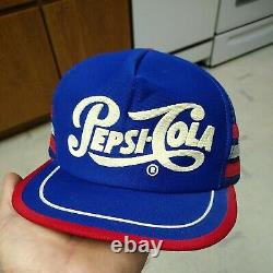 Casquette Vintage Pepsi-cola 3 Stripe Snapback Trucker Hat