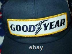 Chapeau De Camionneurs Goodyear Vintage / Casquette Nascar Racing K-produits (nouveau)