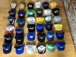 Hats Vintage 70s 80s 90s Snapback Truccker Hat Collection Caps Cap Lot