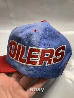 Houston Oilers Hat Vintage Sports Spécialités Trucker Snapback All Over Print