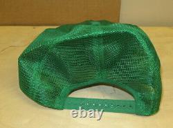 John Deere 1980 Green Patch Snapback Trucker's Mesh Hat Cap Original Demonstra