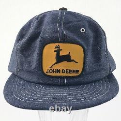 John Deere Casquette Vintage Louisville Denim Réglable Snapback Patch