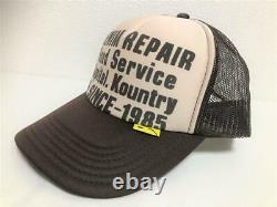 Kapital Kountry Denim Repair Service Pt 2tone Chapeau Camion Camionneur Brun Natura