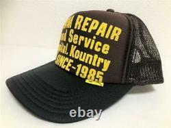 Kapital Kountry Denim Repair Service Pt 2tone Chapeau Camion Camionneur Brun Noir