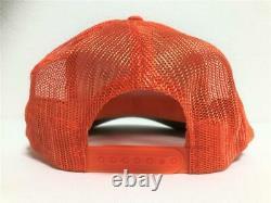 Kapital Kountry Denim Repair Service Pt 2tone Chapeau De Camion Camionneur Orange Kaki