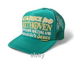 Kapital Kountry Love & Paix Beethoven Camion Chapeau Chapeau Camionneur Marque Neuve Turquoise