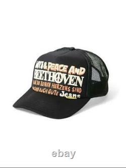 Kapital Kountry Love&peace Beethoven Camion Chapeau Camion Camion Tout Nouveau Noir