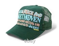 Kapital Kountry Love&peace Beethoven Truck Cap Hat Trucker Tout Nouveau Vert