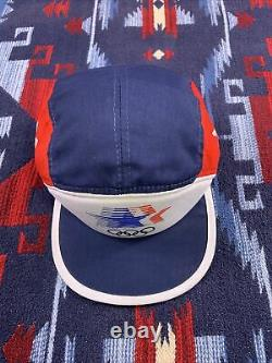 Los Angeles 1984 Olympics Adidas Trucker Hat Vintage Snapback Cap 1980 80s Nouveau