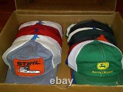 Lot De 24 Vintage Snapback Trucker Hat Cap K Produits Louisville Made N USA