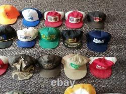 Lot De 46 Vintage Trucker Hat Snapback Cap Dad Farm Revendeurs Touristiques K Produit