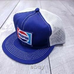Lot De 5 Vintage Kid / Boy Taille K-marque Pepsi Coke Sprite Camionneur Cap Snapback