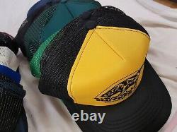 Lot Vintage De 50 Random Trucker Hat Snapback Mesh Patch Cap Mixed 80s 90s