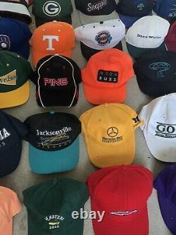 Lot Vintage Trucker Hat Snapback Cap Patch K Marque Produit USA Farm Le Jeu