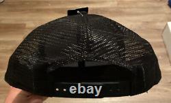 New Era Black San Francisco 49ers Shanahan Square Trucker 9fifty Snapback Hat