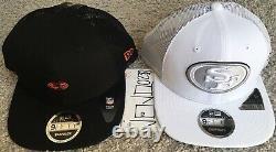 New Era Noir Blanc San Francisco 49ers Shanahan Carré Casquette De Camionneur Chapeau Snapback