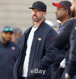 New Era Rouge Noir Blanc San Francisco 49ers Shanahan Casquettes Snapback Carré