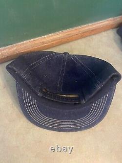 Nos Vtg Denim K-marque Big Patch Kent Nova Farmer Supply Trucker Hat Cap Snapback