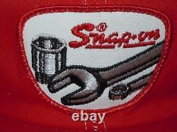 Outils D'instantanée Vtg Patch Logo Snapback Réglable Snapback Mesh Cap Tap Hat K-marque