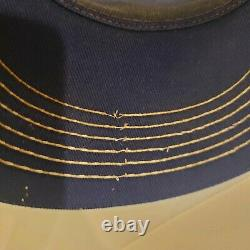 Rare Vintage Années 1980 New Yellowstone Park Hat Snapback K-brand Trucker Cap Moose