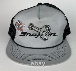 Rare Vtg 80s Snap-on K-produits États-unis Chapeau De Camionnette Cape De Snapback Wrench Logo Avec Broche