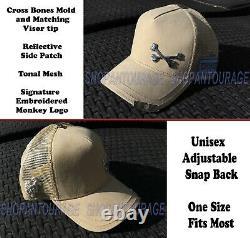 Red Monkey Hat Bundle #5 De 6 Pc Edition Limitée Unisex Fashion Trucker Chapeaux