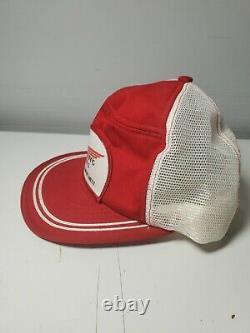 Red Wing Chaussures Snapback Chapeau De Camionneur Cap Fabriqué Aux États-unis Vintage