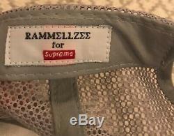Supreme X Rammellzee Maille Casquettes / Casquette Extrêmement Rare 2005