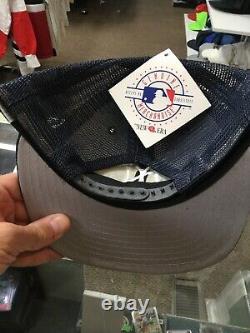 T.n.-o. Vintage New York Yankees New Era Mesh Trucker Snapback Hat Cap New Deadstock