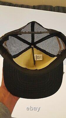 Vintage 3 Stripes John Deere Fabriqué Aux Etats-unis Snapback Camionneur Chapeau En Maille
