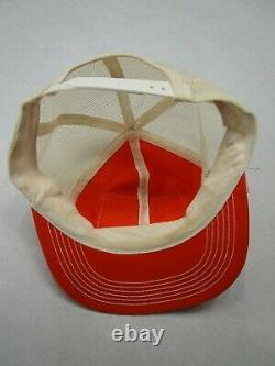 Vintage 70s 80s K Products K Brand Stihl Patch Mesh Snapback Trucker Hat Cap Etats-unis