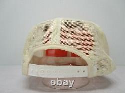Vintage 70s 80s K Products K Brand Stihl Patch Mesh Snapback Trucker Hat Cap USA