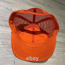 Vintage 70s 80s K Produits K Marque Stihl Patch Mesh Snapback Trucker Hat Cap USA