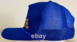 Vintage 80s Alleman Auto Racing Pit Crew Snapback Trucker Hat Casquette Deadstock Nos