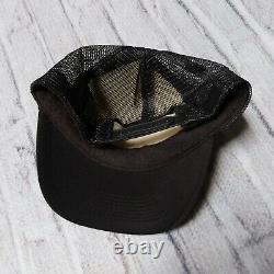 Vintage 80s Bones Brigade Powell Peralta Mesh Trucker Snapback Hat Cap Skate