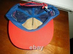 Vintage Années 70 80 Pepsi Cola 3 Stripe Mesh Snapback Trucker Hat Cap USA Tucson