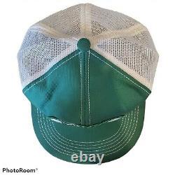 Vintage Burt & Hal's Skoal Bandit Mesh Trucker Snapback Patch Hat